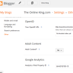 How to setup /delete google analytics [working with]