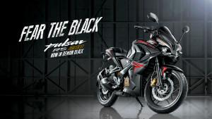 black Pulsar RS 200 Specs, price, features