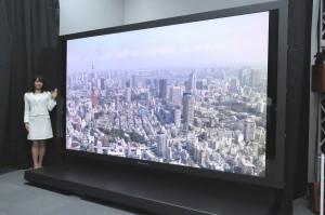 Panasonic 145 inches 8K UHD TV