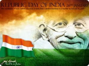 Republic-day-of-India gandhi