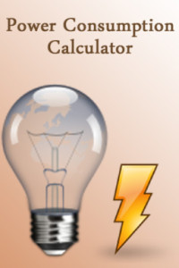 power consumption calculator