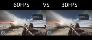 30 fps vs 60fps