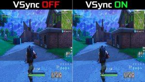 Nvidia vsync on off