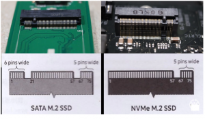 m.2 sata vs nvme b m keys