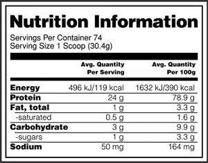 optimum nutrition gold isolated whey protein