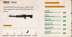 Ff m60 damage rate of fire