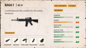 Free fire m4a1 gun