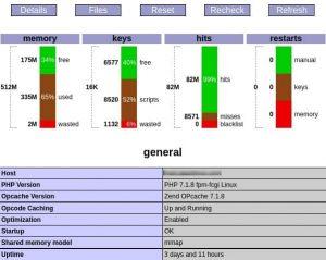 OCP-PHP-Opcache-Control-Panel