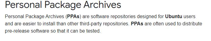 what is ppa repository in ubuntu